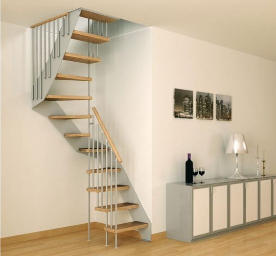 modern spiral staircase designs for small spaces