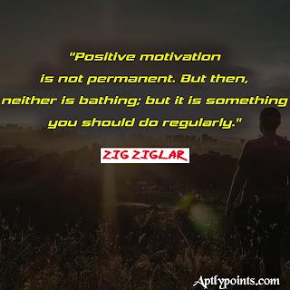 Zig Ziglar Quotes on Motivation, Aptly Points