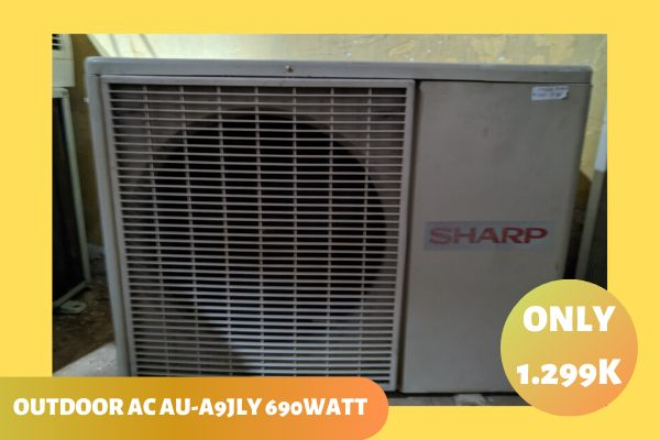 Jual Outdoor AC Sharp 1 PK Low Watt Semarang