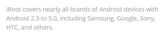 Kingroot Dan Iroot Tidak Dapat Lagi Di Andalkan Untuk Melaksanakan Root Android Dikala Ini 5