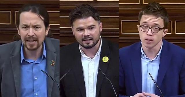 """Líderes de la izquierda manifiestan sentir """"vergüenza"""" por el apoyo de los expresidentes a Martín Villa"""