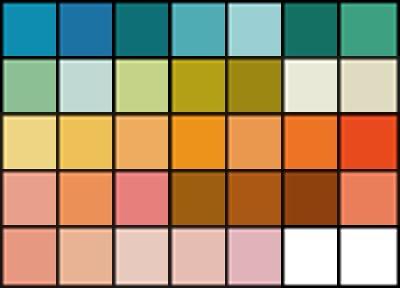 kolory dla wiosny