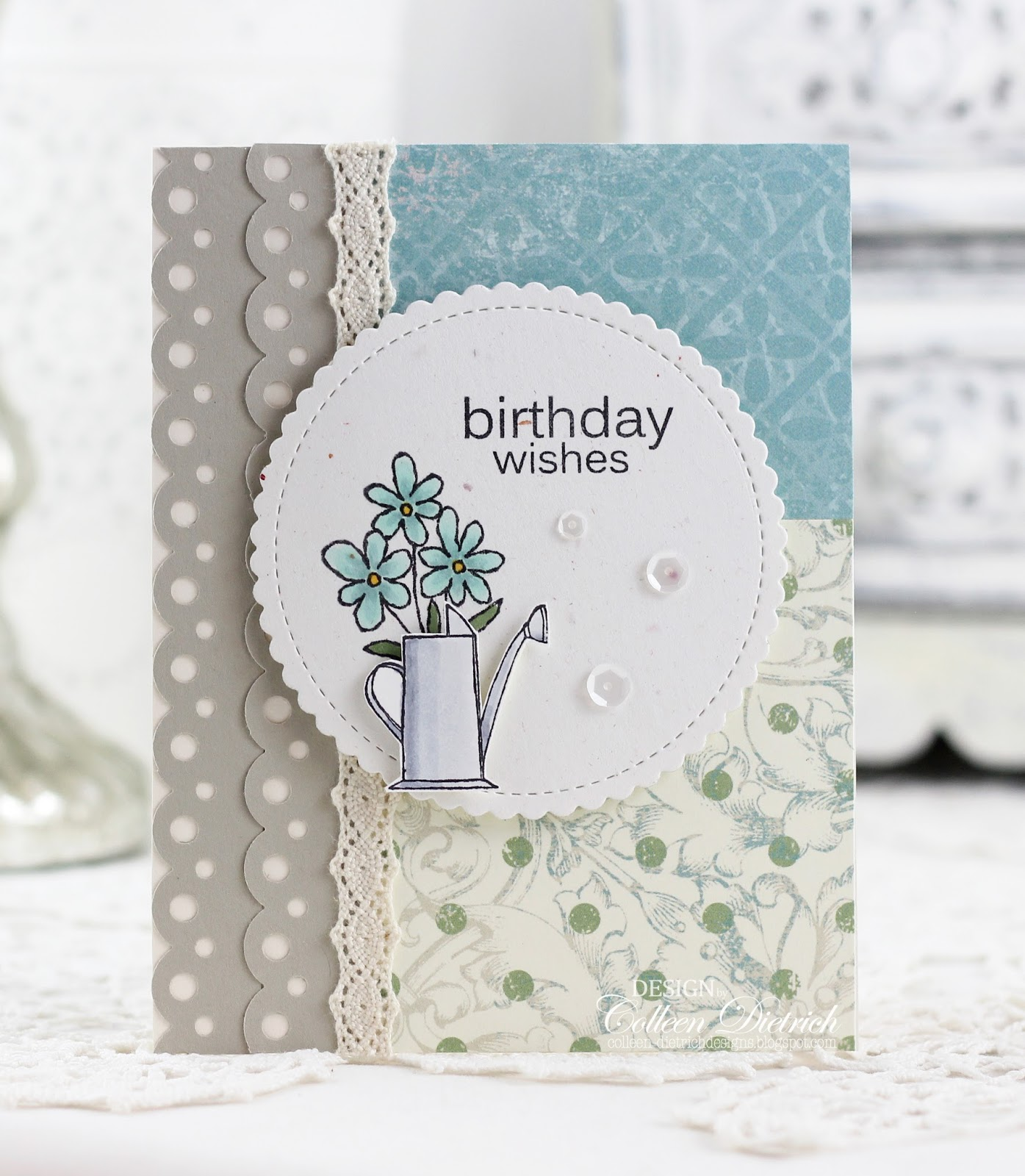 Watering can wishes | Colleen Dietrich Designs