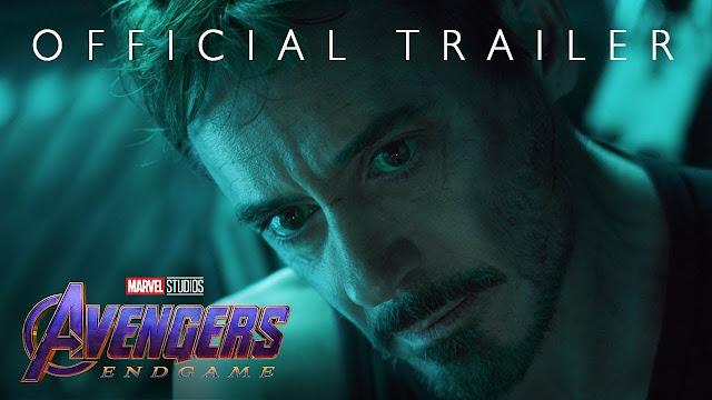 Marvel Studios, Avengers, Endgame, Official Trailer, The New Part 2019