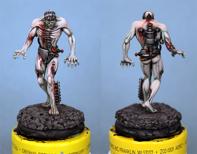 Malifaux Flesh Construct - Painted and Putrid