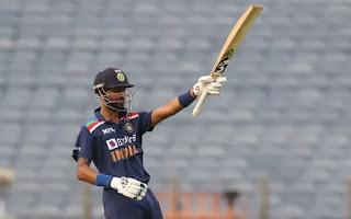 Krunal Pandya 26-ball Fastest Fifty on Debut ODI Match Highlights