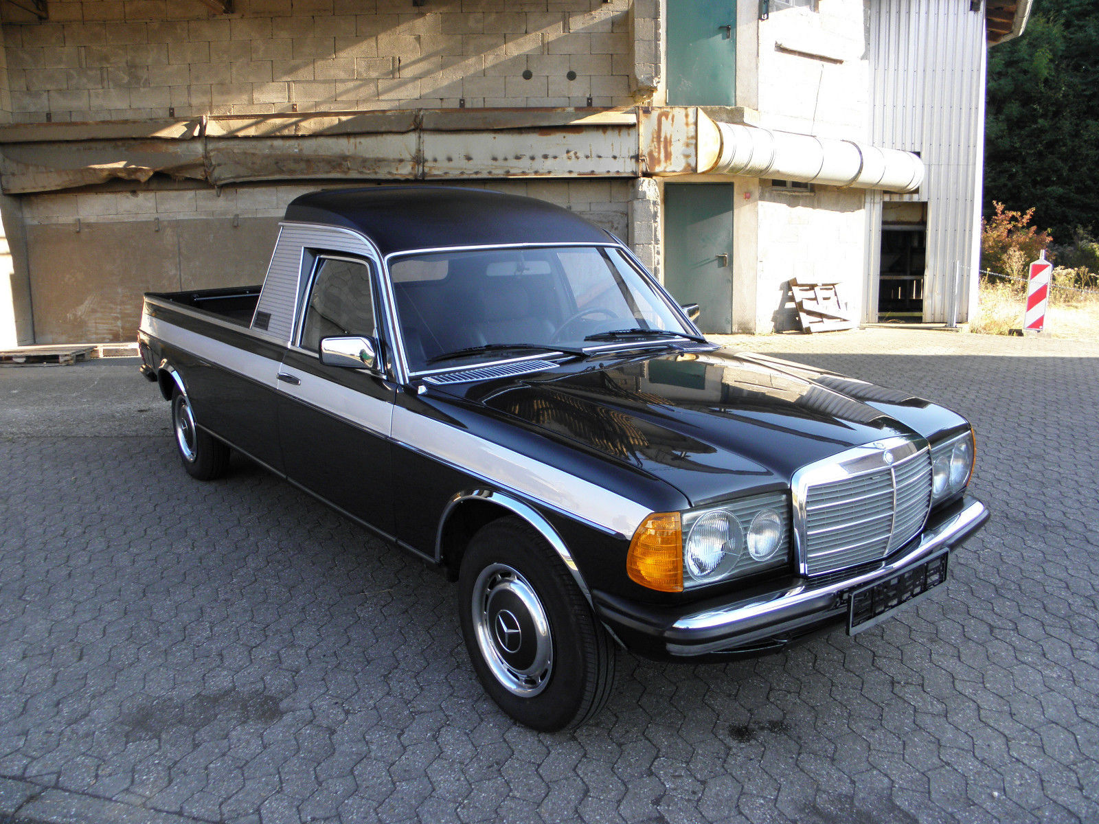 1982 mercedes benz w123 pickup benztuning. Black Bedroom Furniture Sets. Home Design Ideas