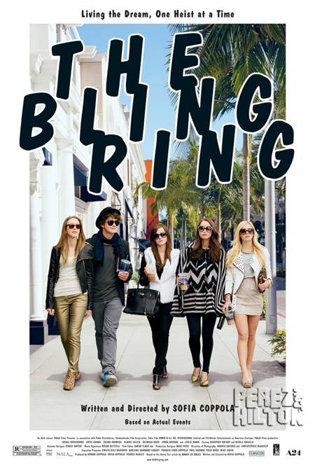 the bling ring poster full2  oPt The Bling Ring Official Trailer 2013 Emma Watson Movie [HD]