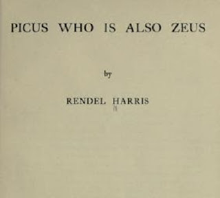 Picus who is also Zeus PDF book by Harris, J. Rendel