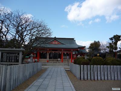 中島惣社拝殿