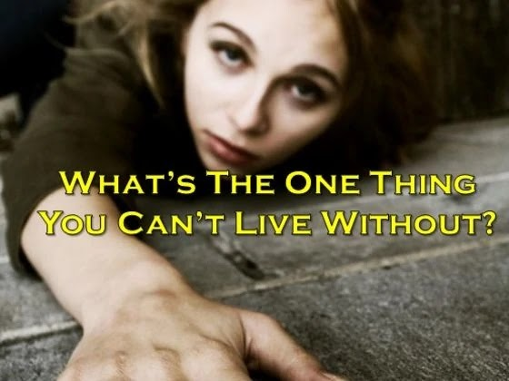 What Is The One Thing You Secretly Can't Live Without?