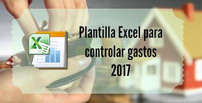 Plantilla Excel para controlar gastos 2017
