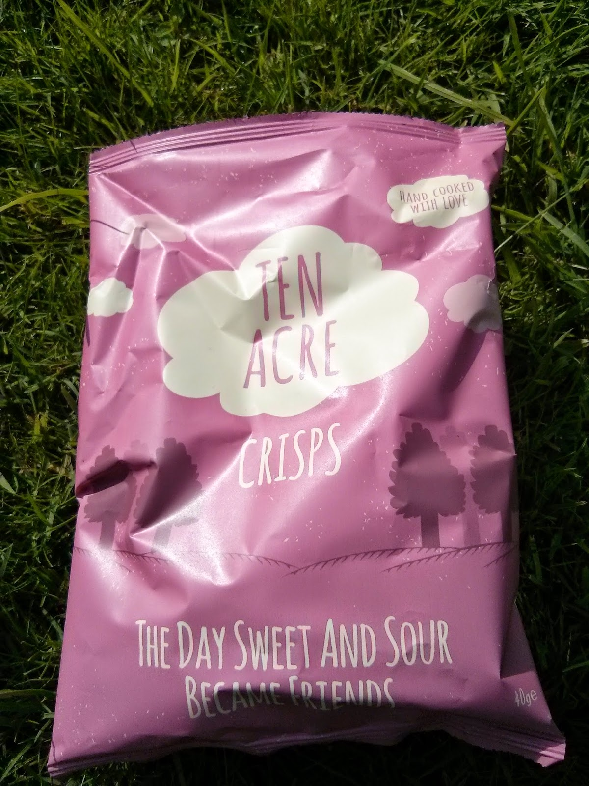Vegan Tuck Box, Ten Acre Crisps