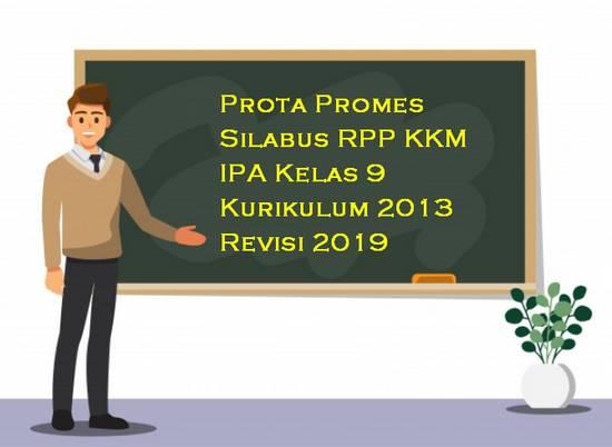 Prota Promes Silabus RPP KKM IPA Kelas 9 Kurikulum 2013 Revisi 2019