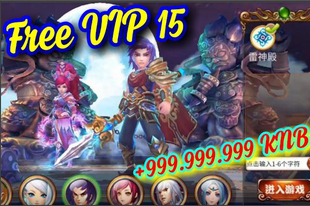 Tải game Tân Phong Thần Bảng Free VIP 15 + 999.999.999 KNB - Tải game Trung Quốc hay