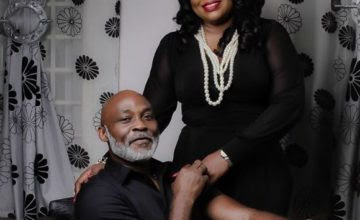 Richard mofe damijo and wife jumobi
