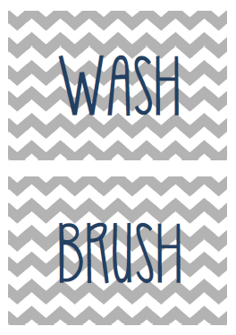 picture about Wash Brush Floss Flush Free Printable titled Develop Really Blog site: No cost Printables- BRUSH Clean FLUSH FLOSS