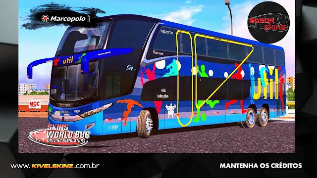 PARADISO G7 1800 DD 6X2 - VIAÇÃO UTIL ESPORTES