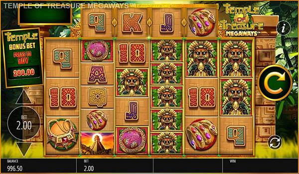 Main Gratis Slot Indonesia - Temple of Treasure Megaways (Blueprint Gaming)