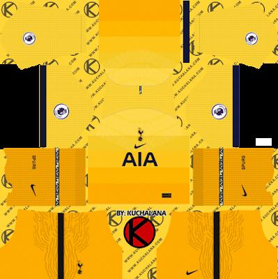 Tottenham Hotspur 2020-21 Kit - DLS2019 Kits
