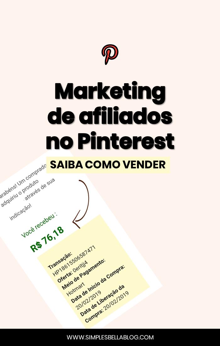 Como usar o Pinterest para vender como afiliado em 2020