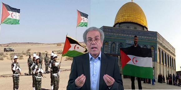 قضية الصحراء المغربية موقف الفلسطينيين احمد عصيد
