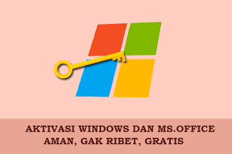 KMS AutoNET, Aktivator Legal Windows 100% Aman