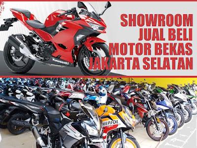 Tempat jual beli motor bekas Jakarta Selatan