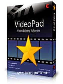 VideoPad Professional v4.45 Full Version + Serial