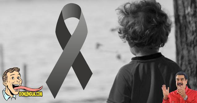 Niño de 4 años murió con el impacto de una bala fría en Lara
