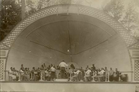 Концертный сад курхауза Эдинбург
