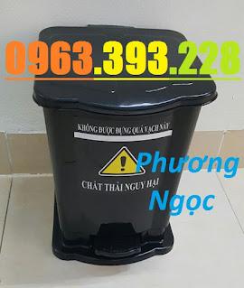 Thùng rác y tế 15 Lít đạp chân, thùng phân loại rác y tế,thùng đựng rác y tế 15L TR%25C4%2590C15L5