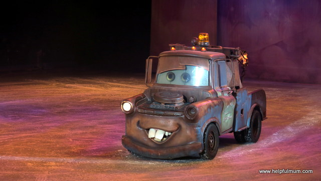 Mater on ice Disney Cars