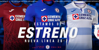 cruz azul 2021 kit