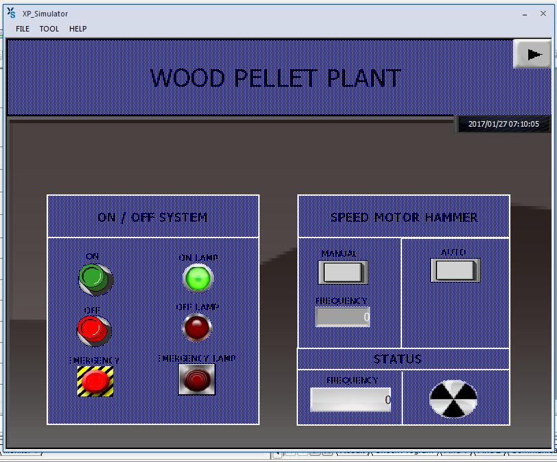 Project - Wood Pellet Plant Menggunakan XG-5000, XG-PD DAN XP-Builder