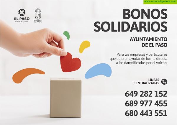 El Ayuntamiento de El Paso crea los 'Bonos solidarios' para que las empresas y particulares puedan ayudar directamente a los damnificados por el volcán