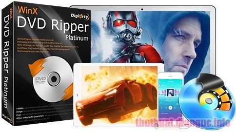 Download WinX DVD Ripper Platinum 8.9.2.217 Full Crack