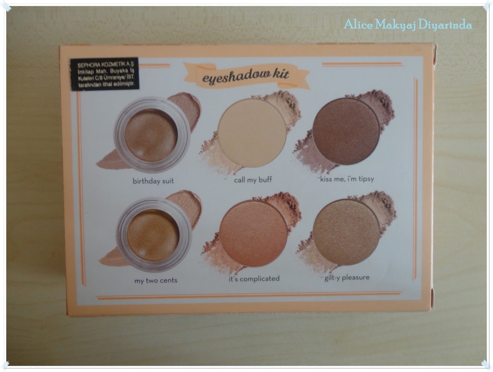 Benefit World Famous Neutrals- Most Glamorous Nudes Ever Palet