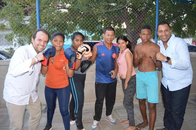 "Mindeportes en Riohacha: ""vamos a construir escenarios  para el rugby, taekwondo, boxeo""."