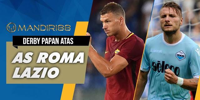 Derby della Capitale antara AS Roma melawan Lazio akan tersaji di giornata  Terkini Prediksi Bola : AS Roma Vs Lazio , Minggu 19 November 2017 Pukul 00.00 WIB