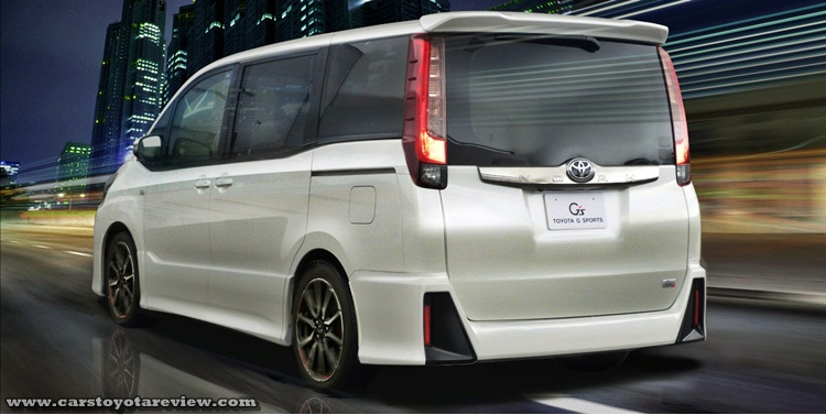 2017 Toyota Voxy Review