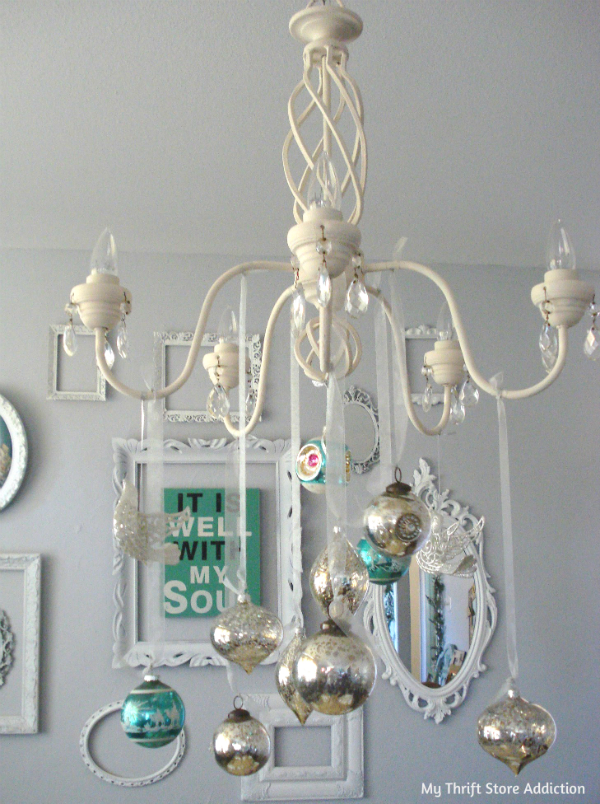 vintage ornament chandelier