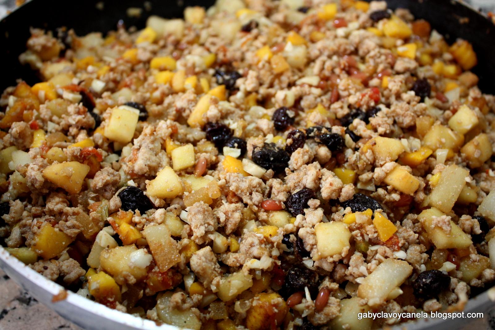 Chiles en Nogada stuffing recipe