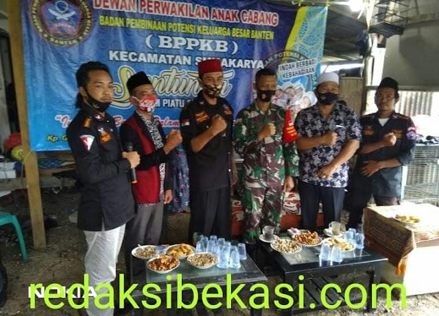 Pengurus DPAC BPPKB Banten Sukakarya, Adakan Santunan Yatim Piatu Dan Dhuafa