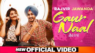 GAUR NAAL (गौर नाल Lyrics in Hindi) - Rajvir Jawanda