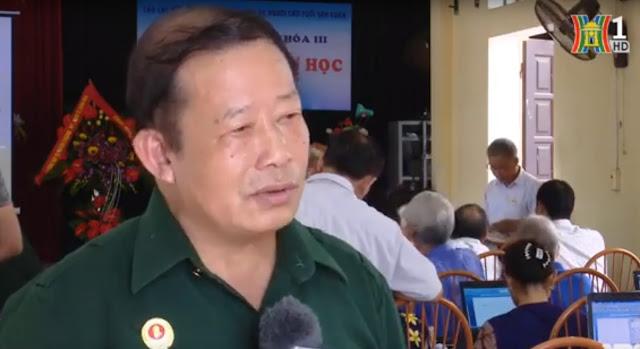 Câu lạc bộ tin học cựu chiến binh Thị trấn Xuân Mai và tấm gương cựu chiến binh Nguyễn Minh Đức