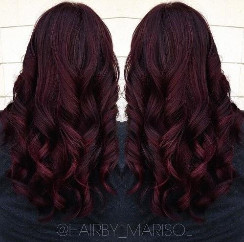 ¿El último peinado atrevido solo tiene mejor \u2013 un bob largo junto con un color rojizo? Absoluta perfección! Que se inclina más hacia el lado del castaño del