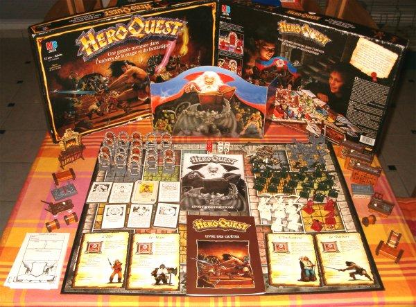 plateau de jeu HeroQuest