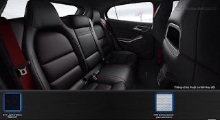 Nội thất Mercedes AMG GLA 45 4MATIC 2015 màu Đen 811