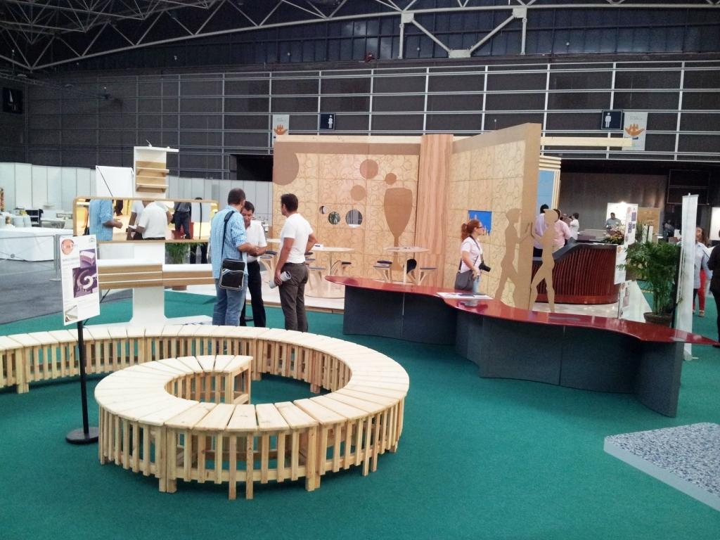 Luis l pez punto com i madera interesante proyecto de la for Feria del mueble valencia